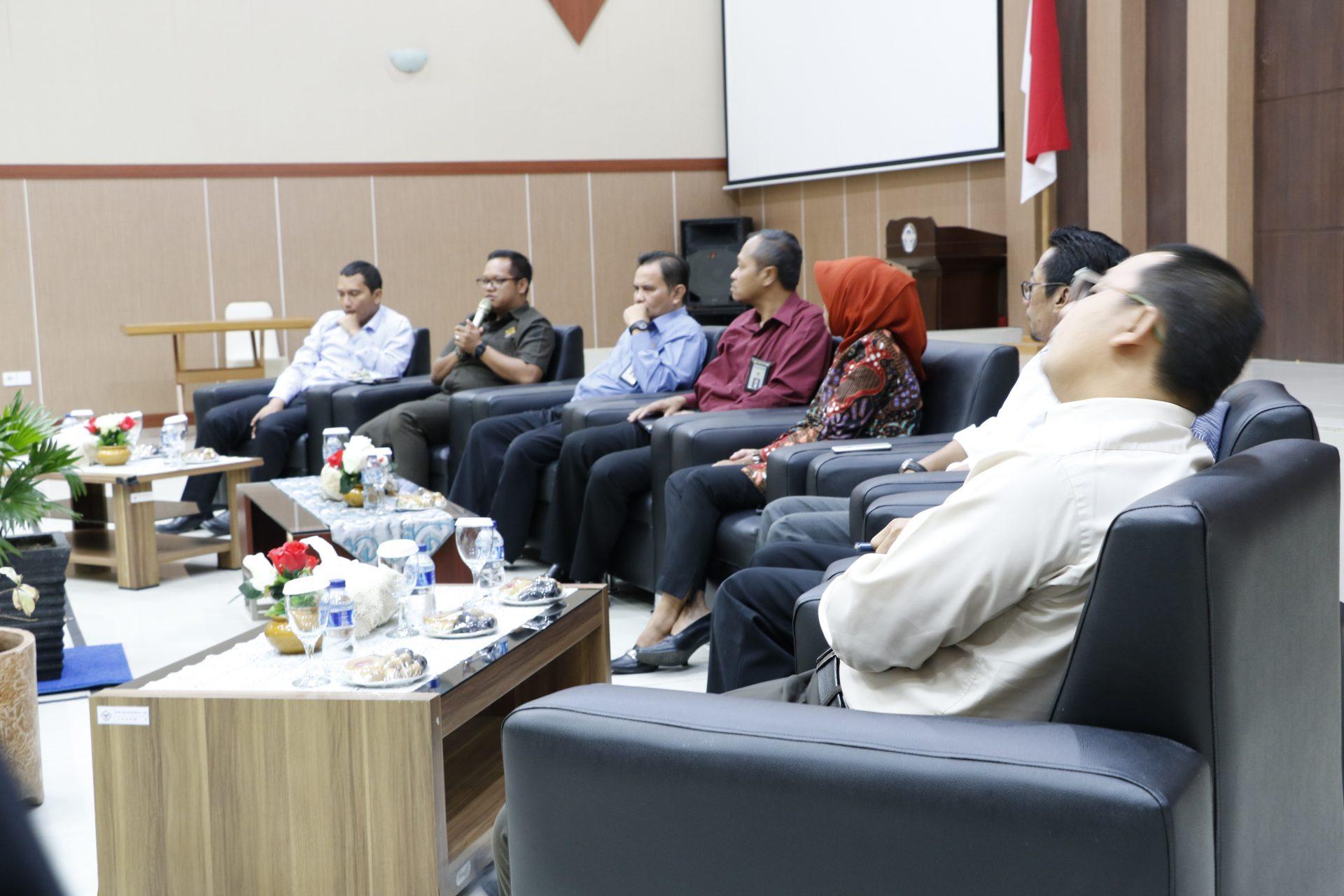 Perkenalan Kasetlan dan Kasubbag Umum dan TI Pada Kantor BPK Perwakilan Kalimantan Tengah