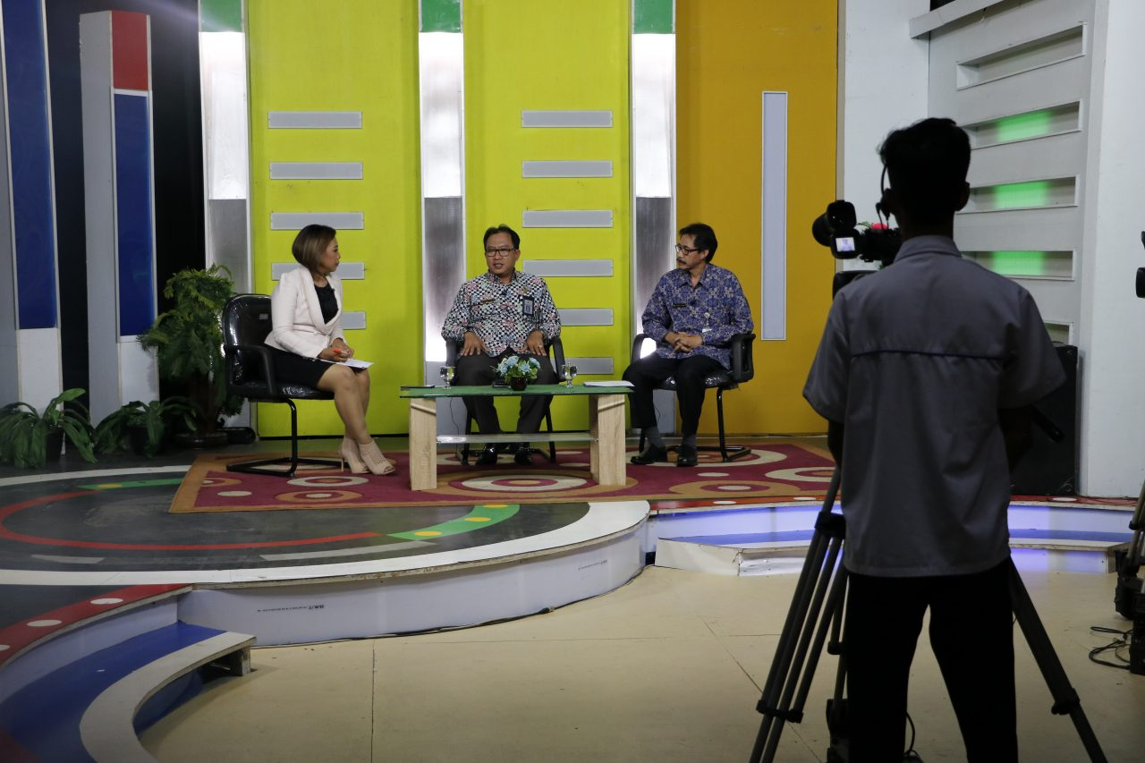 Media Visit Kepala BPK Perwakilan Provinsi Kalimantan Tengah Ke TVRI Kalteng