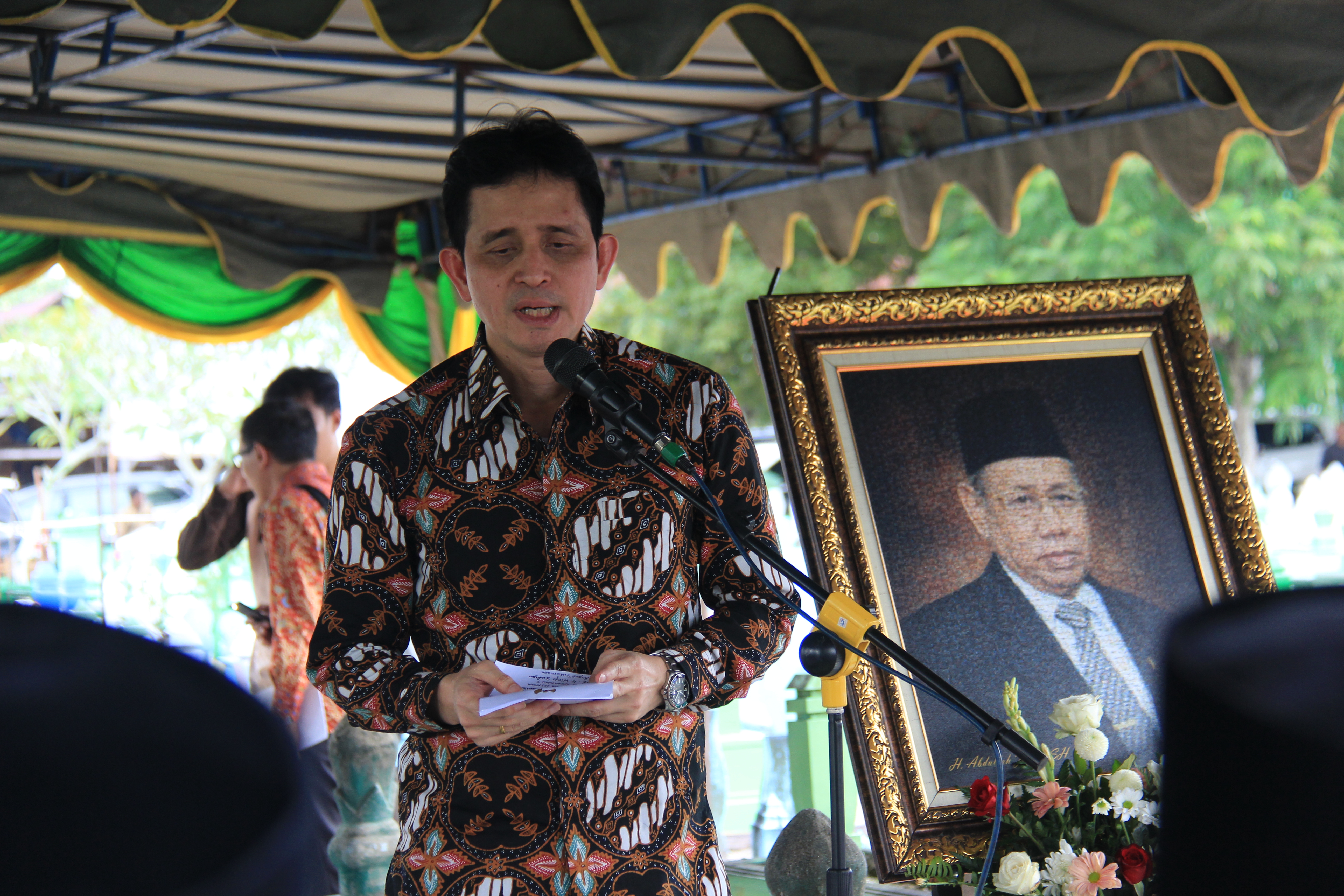 Ziarah Staf Ahli Bidang BUMN, BUMD dan Kekayaan Negara/Daerah BPK RI Pusat ke Kabupaten Kotawaringin Barat