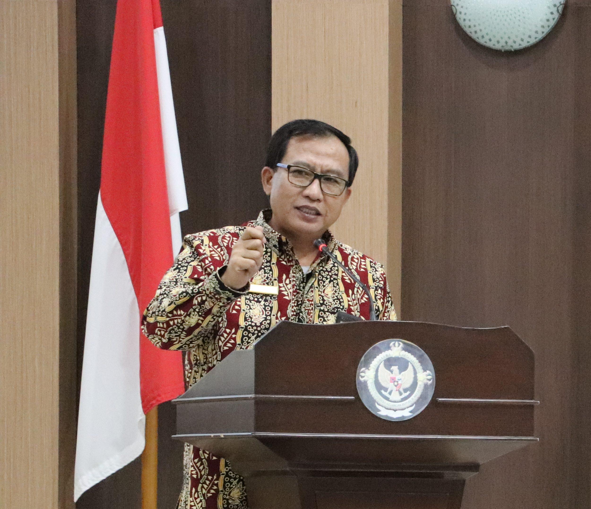 Penyerahan Laporan Hasil Pemeriksaan Kinerja, Pemeriksaan Dengan Tujuan Tertentu, dan Ikhtisar Hasil Pemeriksaan Sementara Semester I Tahun 2019 Kepada Sembilan Pemerintah Daerah di Provinsi Kalimantan Tengah