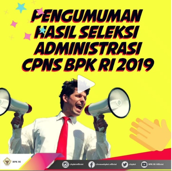 Pengumuman CPNS Tahun 2020